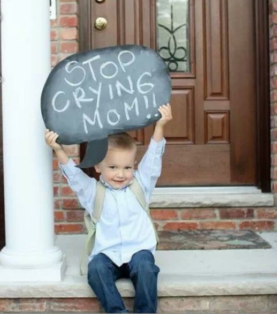 Αποτέλεσμα εικόνας για Chalkboard photo mom stop crying