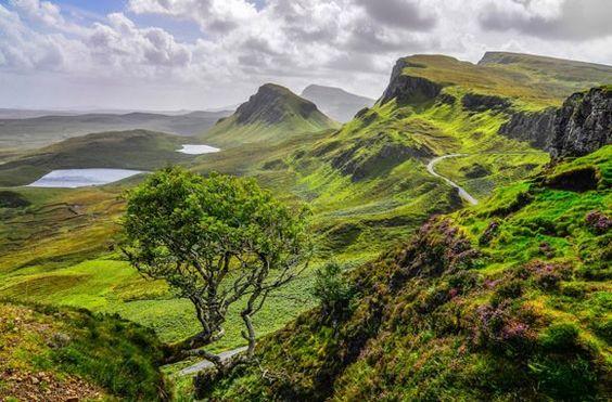 Quiraing Mountains, Isle of Skye ~ Smarter Travel