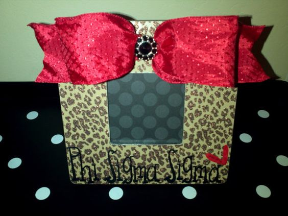 Boutique Picture Frame Leopard Shabby Chic by HoityToityLaBoutique, $25.00