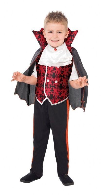 Halloween Kinder Kostüm Vampir Graf Dracula
