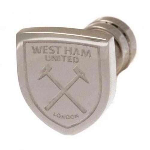 Stainless Steel Arsenal FC Crest Single Earring