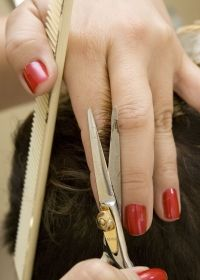 Another key skill that hairdressers need to master is hand & finger dexterity in order to be able to use hairdressing tools.