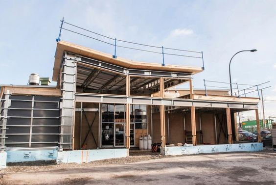 The BONE prefab components are a new light steel system that are transforming the construction world.