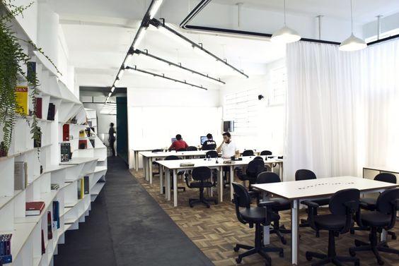 aldeia coworking in curitiba/brasil