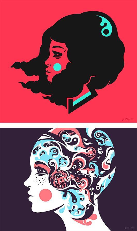 Unique Illustrations by PÁL.