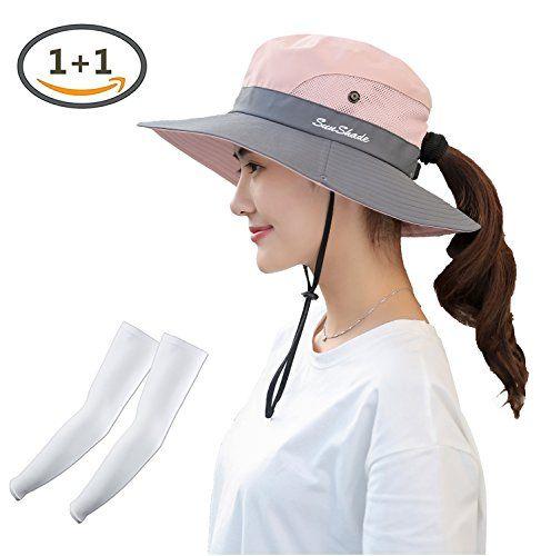 Decky Women S Uv Protection Wide Brim Mesh Foldable Summer Sun Hat Outdoor Hiking Camping Fishing Beach Sun Ca Hats For Women Summer Sun Hat Women Hats Fashion