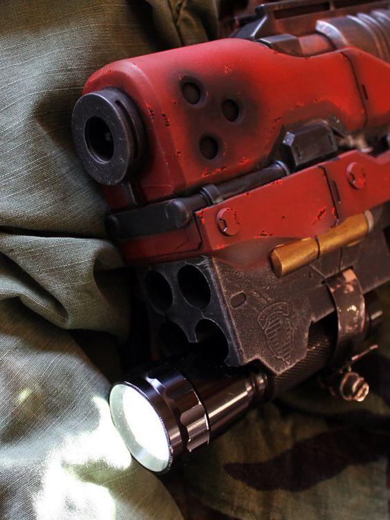 Benutzerdefinierte gemalt Nerf Pistole mit von GeekHouseCreations