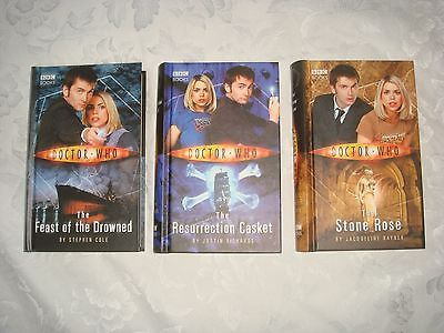 #Doctor who set of 3 #books:stone rose, #resurrection casket & feast of the drown,  View more on the LINK: 	http://www.zeppy.io/product/gb/2/172067492599/