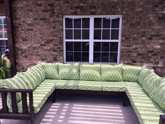 My Outdoor Sectional Couch | Do It Yourself Home Projects from Ana White