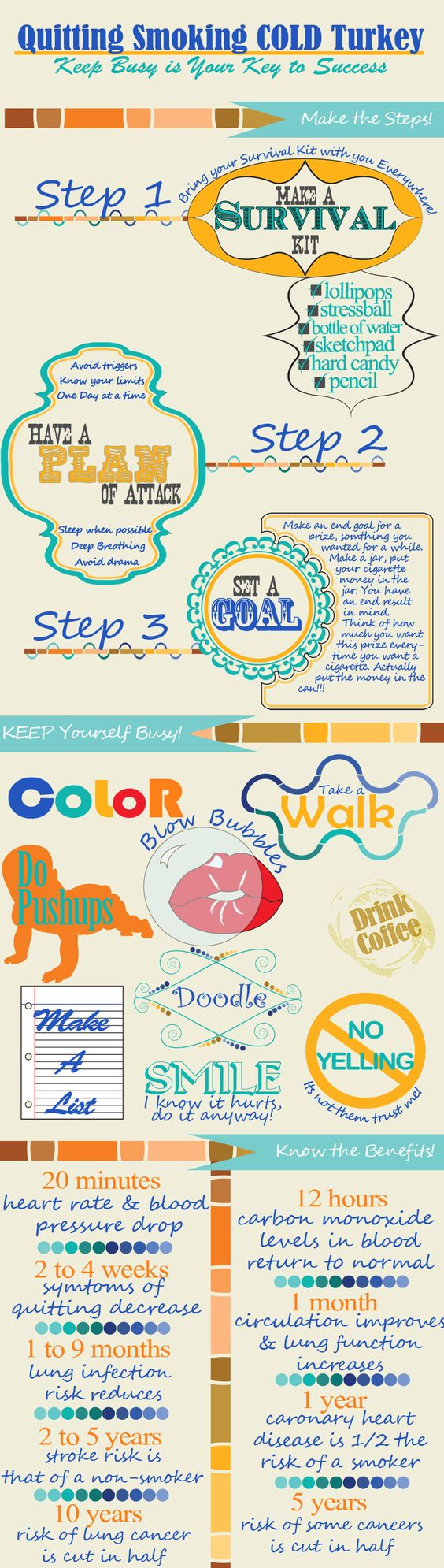 Quit Smoking infographics