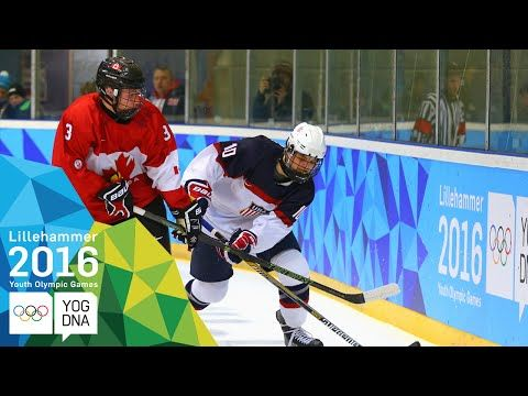 Ice Hockey - USA win Men's gold | Lillehammer 2016 Youth Olympic Games - http://hockeyvideocenter.com/ice-hockey-usa-win-mens-gold-lillehammer-2016-youth-olympic-games/