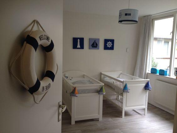 Babykamer Tweeling Ideeen Luvern Lamp Groen Wieg
