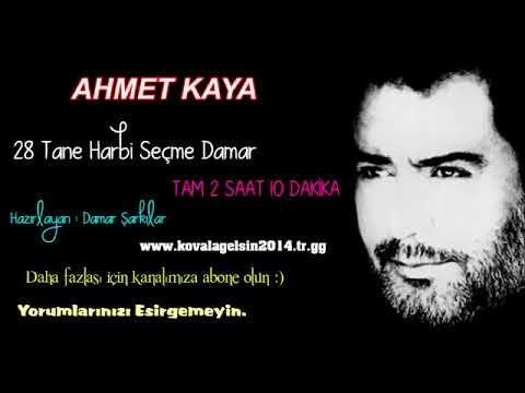 Ahmet Kaya 28 Tane Secme Damar Sarkilar Youtube Sarkilar Muzik Youtube