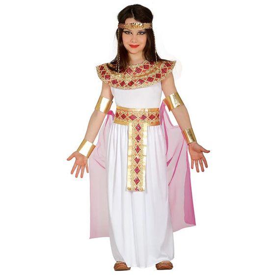 Disfraz de Egipcia Cleopatra Infantil #disfraces #carnaval #novedades2016