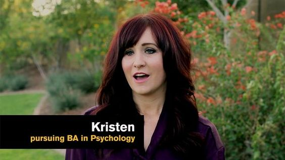 Meet Kristen, Psychology major (video)