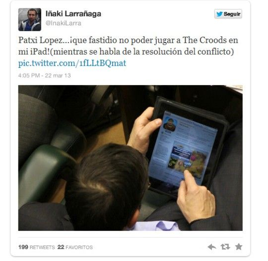 El top de juegos para políticos que se aburren en los plenos | Applícate | Blogs | elmundo.es