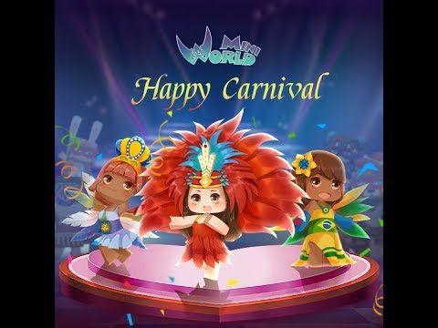 Carnaval Mini World In 2020 Art Block Mini Carnival