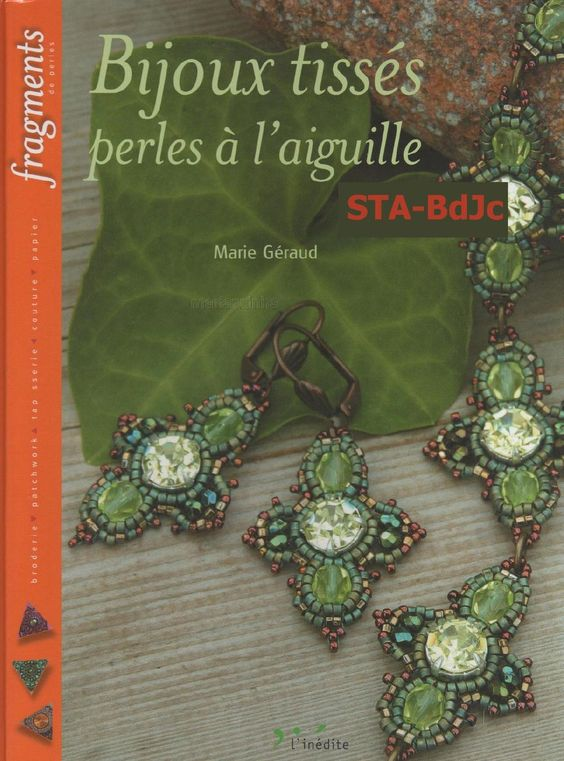 #ClippedOnIssuu from Bijoux Tisses Perles à l´aiguille by Marie Geraud Biloba g