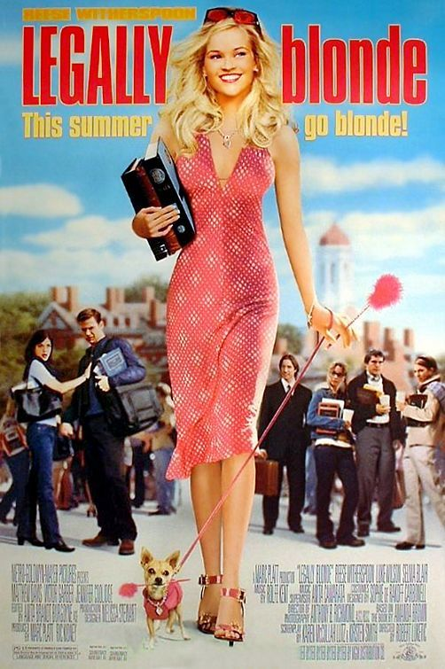 """""""Legally Blonde"""" - certainly in my top ten  list of my favorite movies of all time (even beating """"Judgment at Nuremberg""""!). It has served as an academic inspirational tale for me for the last, longer than I care to admit, number of years... ;-)."""