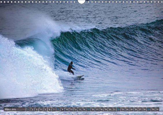 Faszination Surfen - CALVENDO Kalender von Martina Cross