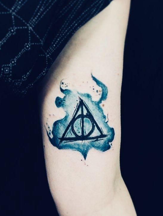 Harry Potter Arm Tattoo Arm Tattoo Tattoos Harry Potter Tattoos