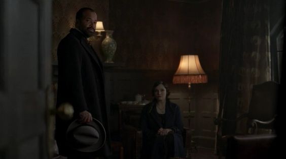 "The Bible - Boardwalk Empire Season 4 Episode 2 - ""Resignation"".  1 Timothy 2:9, ""Likewise also that women should adorn themselves in respectable apparel, with modesty and self-control...""  ""Do you know your Bible, Mr. White?"", Narcisse asks. Chalky replies, ""Better than I know you."""