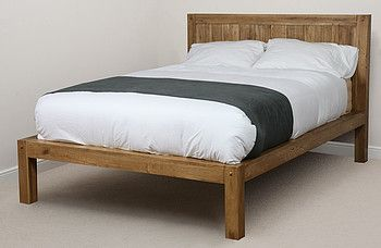 Quercus Solid Oak 5ft King-Size Bed