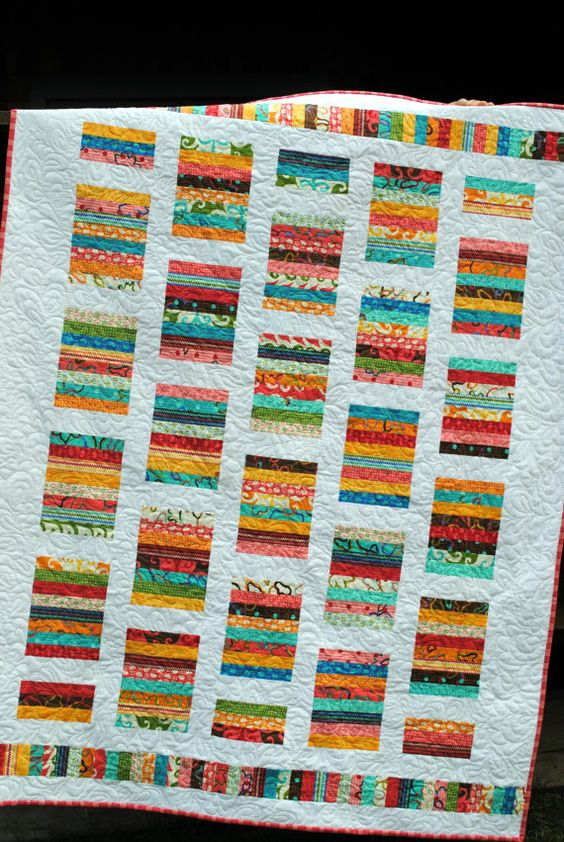 Easy Quilt Patterns Using Layer Cakes : Baby Quilt Pattern or Lap Quilt Pattern....Quick and Easy ...Layer Cake or Fat Quarters - Simply ...