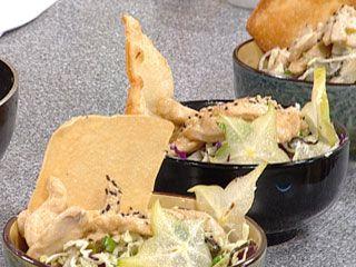 Recetas | Ensalada china de pollo grillado | Utilisima.com: Grillado Utilisima, China De, Recetas Ensalada, Recipe, Pollo Grillado, Chicken