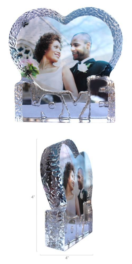 Crystal Photo Personalized Gift for Love