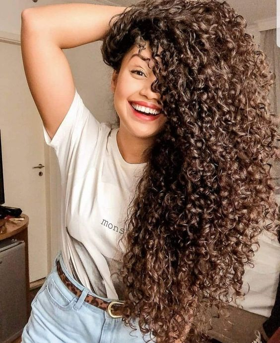 مرتب کردن موی فر-خانومی
