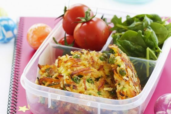 Rice & Vegetable Fritters