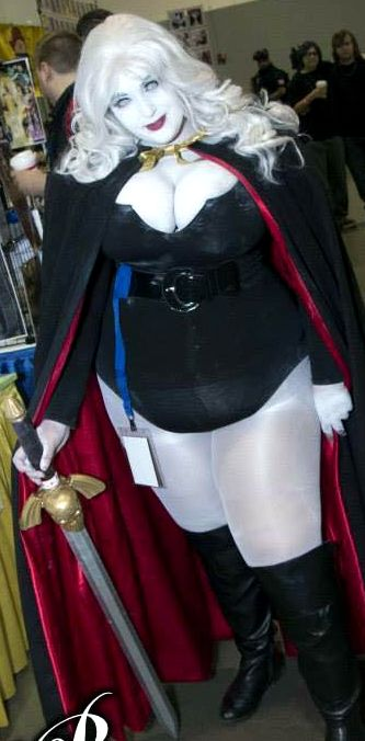 Affexion Cosplay as Lady Death
