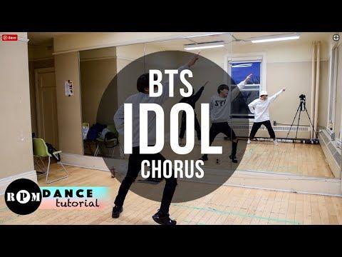 Bts Idol Dance Tutorial Pre Chorus Chorus Youtube Dance Dance Kpop Dance Lessons