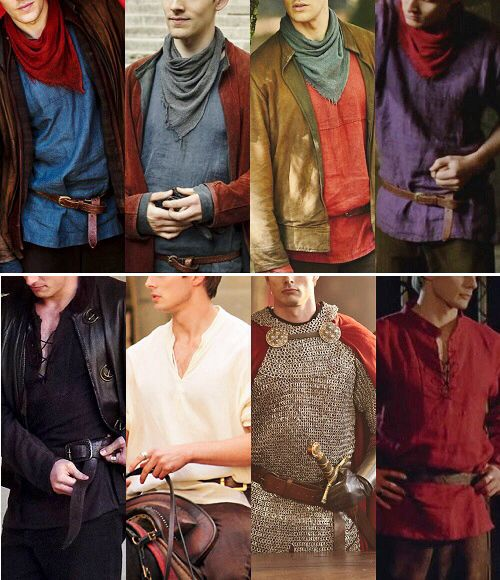 Merlin and Arthur's costumes. This is awesome.