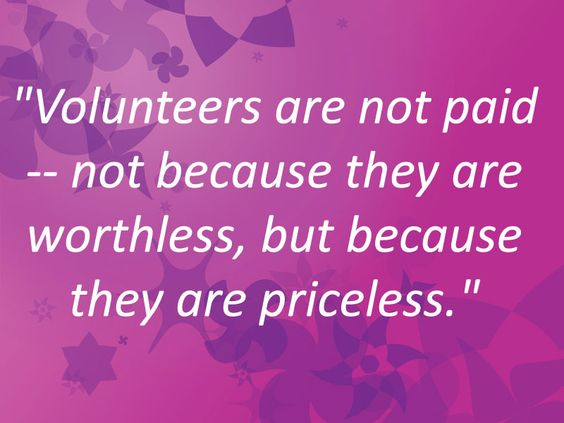 Happy International Volunteer Day!