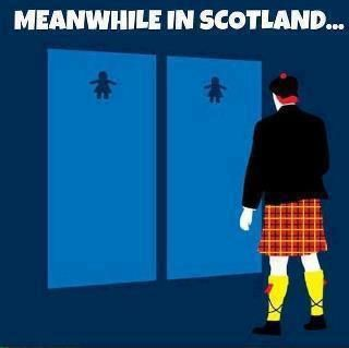 Meanwhile in Scotland....