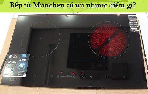 Ưu nhược điểm của bếp điện từ Munchen
