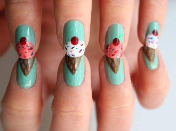 ice cream---Such a cute idea!!!: