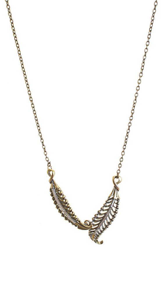 Antique Gold Necklace $18