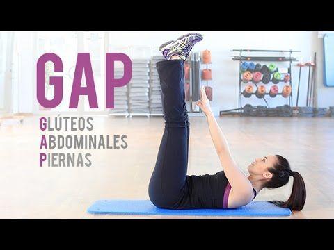 Rutina de glúteos, abdominales y piernas