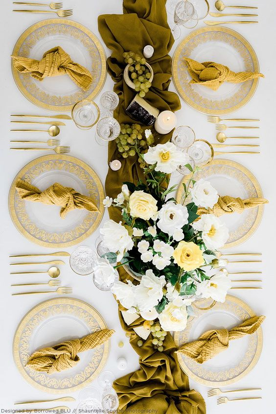 Mustard Yellow is a such a popular color going into the summer and fall wedding season! Find silk flowers and wedding decor for your special day at Afloral.com.