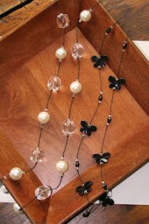 DIY~ Super easy to make necklace inspired by Forever 21 necklace.