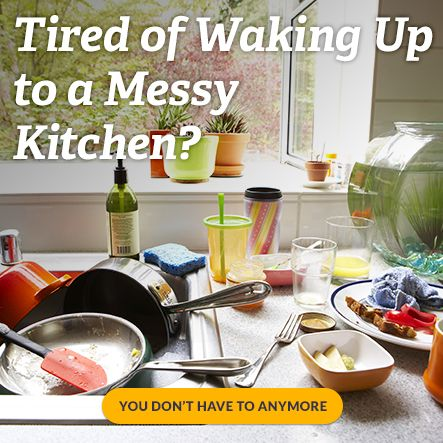 Learn the simple secret to keeping your kitchen tidy and making your homemaking stress free.