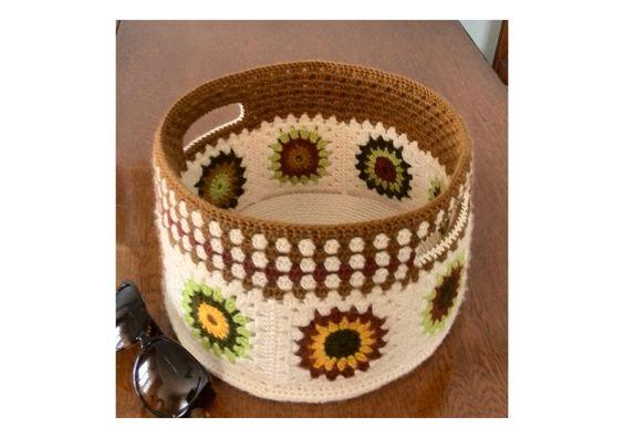 handmade crochet baskets крючком корзины canasta de ganchillo crochet panier
