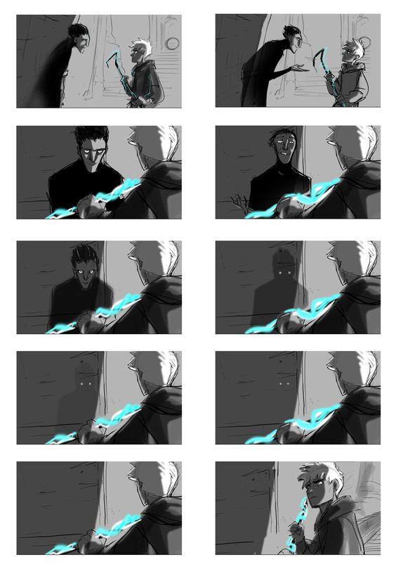 Jack vs Pitch Dark jelsa Pinterest Cats, The ou0027jays and Photos - photography storyboard sample