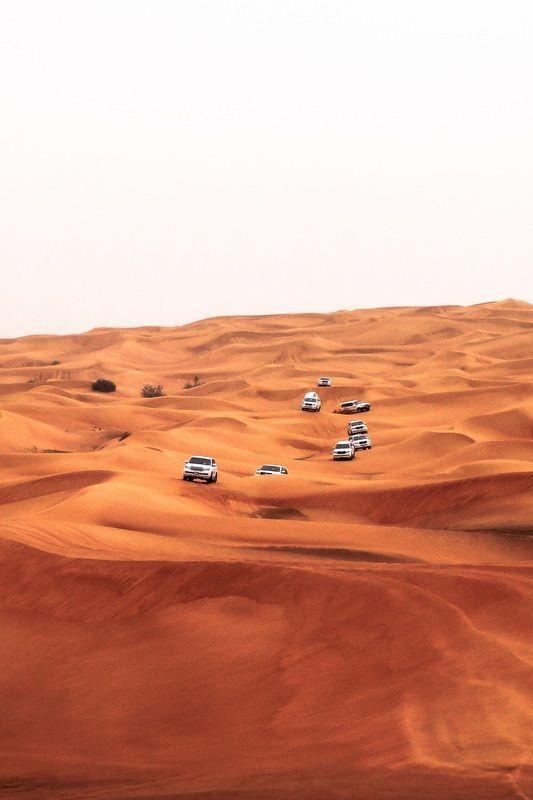 Safari en 4x4 por el desierto, Dubái