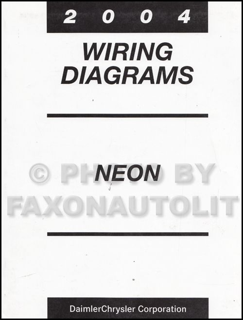 Dodge Neon Wiring Diagram Neon Diagram Dodge