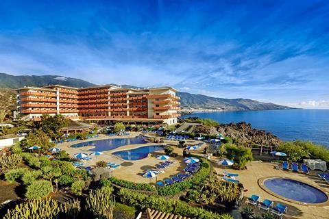 H10 Taburiente Playa Midden In Los Cancajos Vind Je H10 Taburiente Playa Vanuit Het Restaurant Heb Je Een Fantastisch Uitzicht Over De Zee Het Hote Tui Hotel