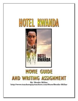essay about hotel rwanda movie free